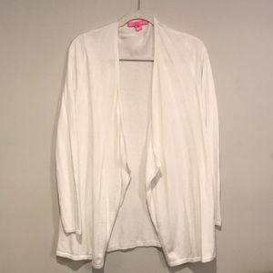 Lilly Pulitzer White Cardigan